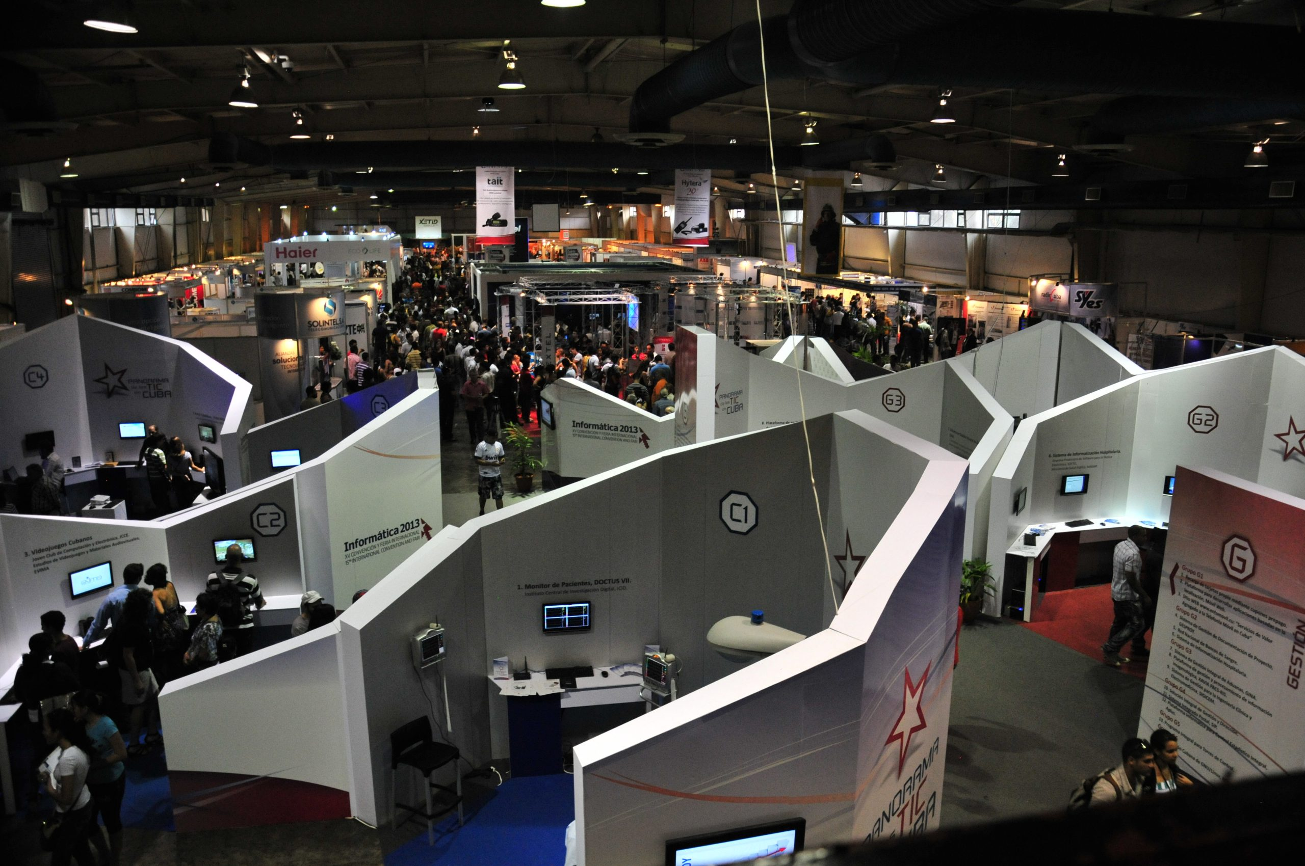 2013 A view of one of the halls of the Exhibitory Fair