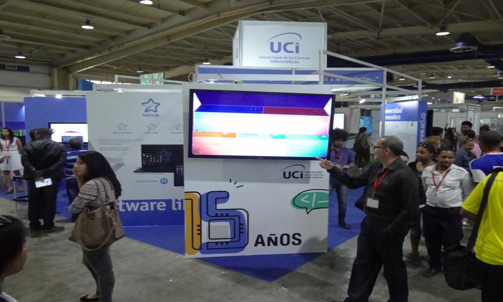 2018 Stand of the University of Computer Science (UCI)
