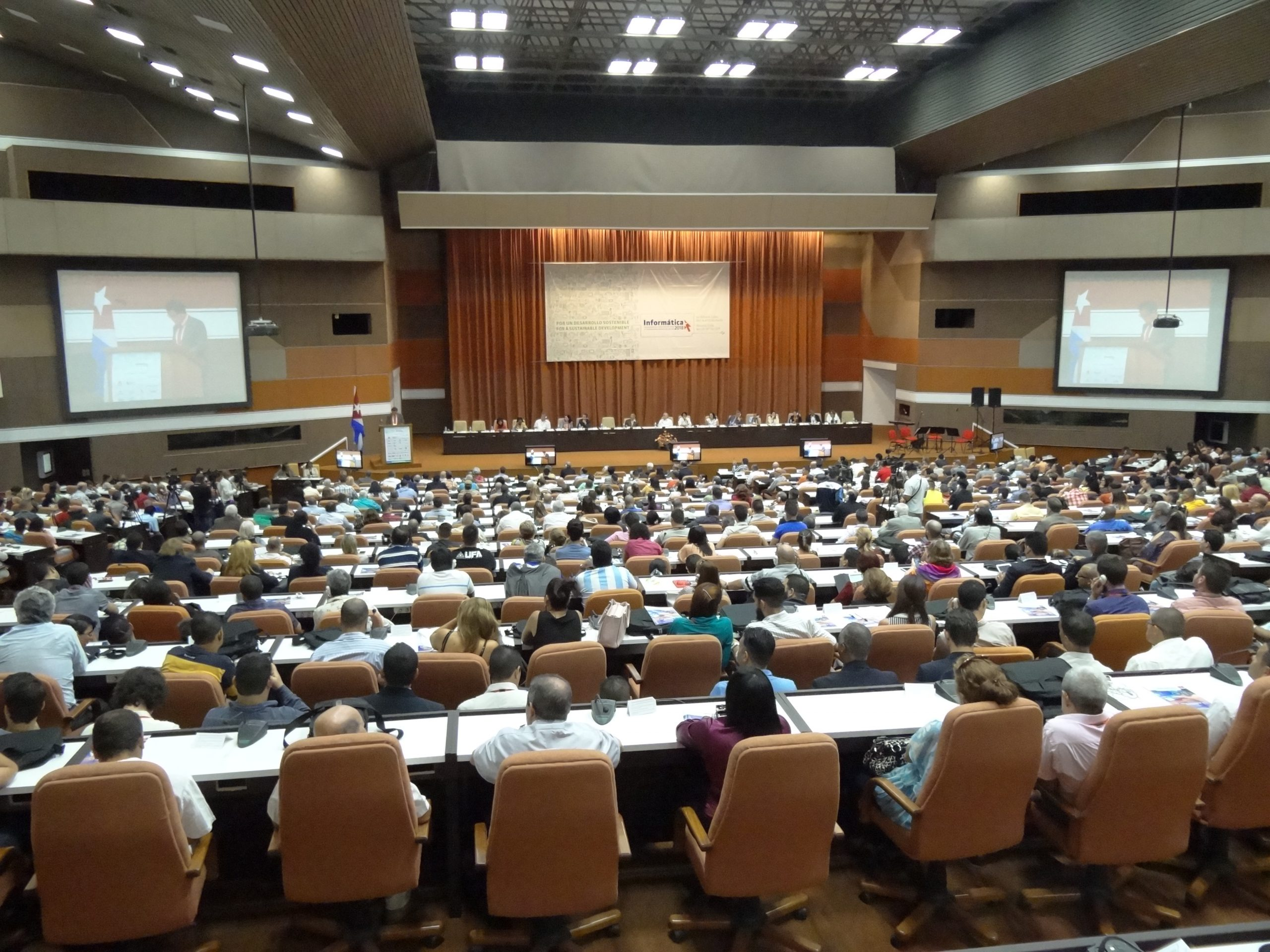 2018 Intervention of foreign personality in plenary hall